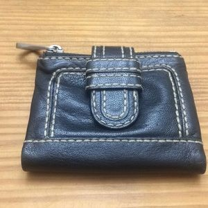 Fossil black butter soft leather wallet